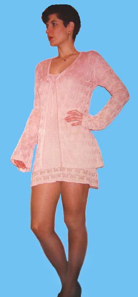 4 Короткие платья - Вязание и трикотаж.